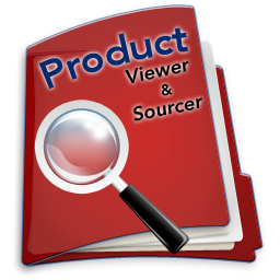 Product Viewer and Sourcer Logo